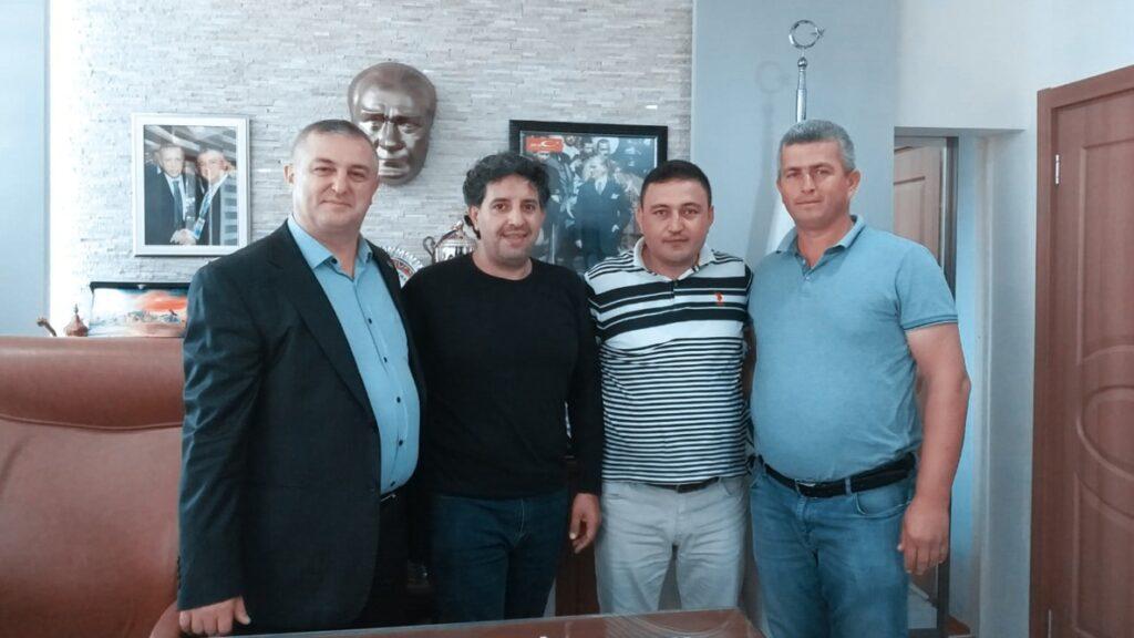 رئيس شركة بوابة إسطنبول يزور رئيس بلدية منطقة جيليك