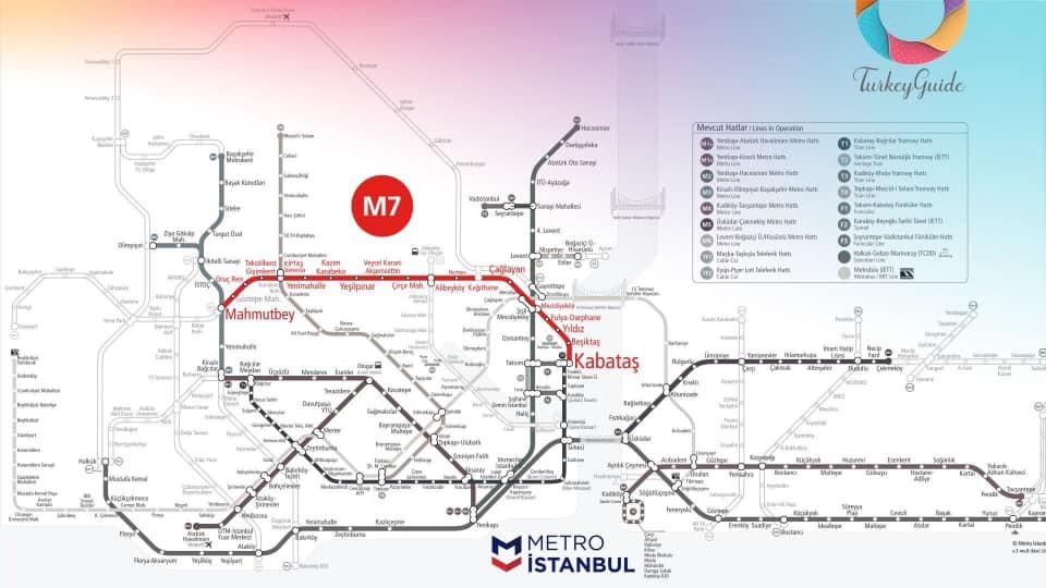 مترو تركيا الجديد