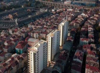 مشروع عائلي مميز في وسط مدينة اسطنبول وقريب من المترو ومحطة الباصات الرئيسية