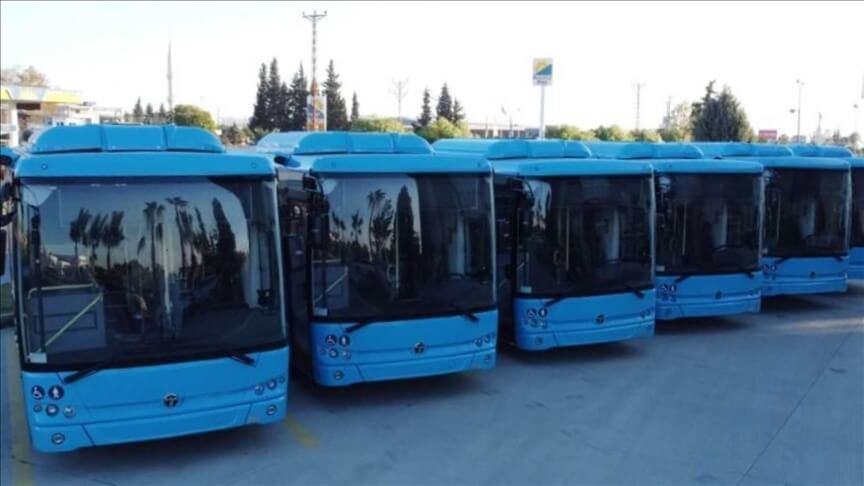 حافلات كهربائية إلى دولة السويد
