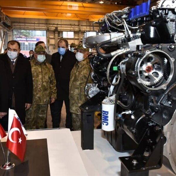تركيا تزود مركباتها العسكرية بمحركات محلية
